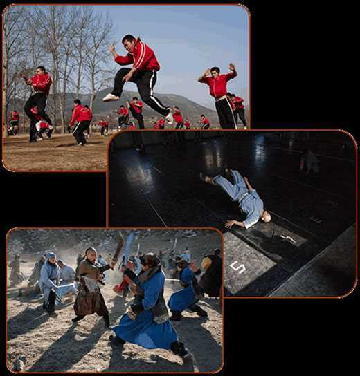 forme kung fu
