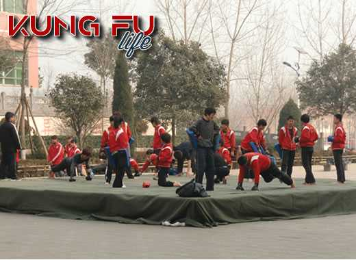 kung fu allenarsi in Cina