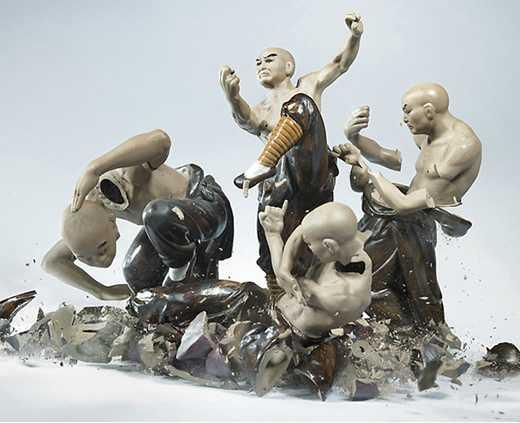 ceramiche kung fu