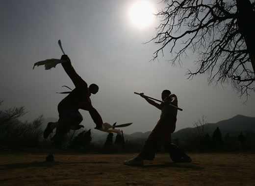 armi di kung fu