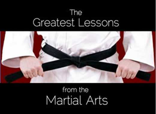 greatest lesson from martial arts