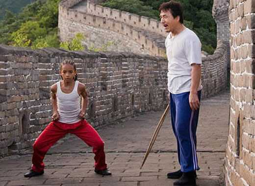 karate kid allenamento