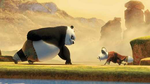 kung fu panda piegamenti