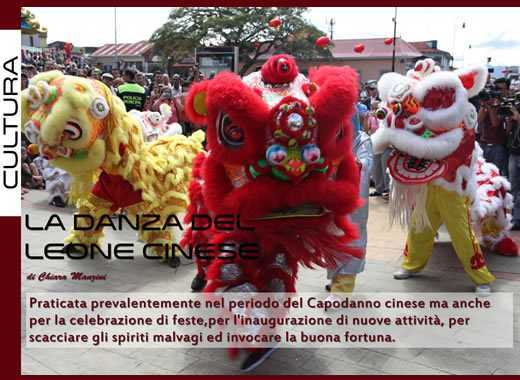 Kung Fu Life - La danza del leone cinese