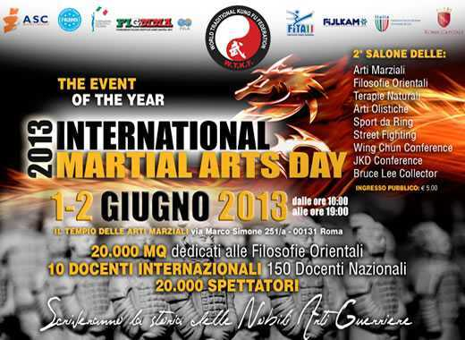 International martial art day 2013