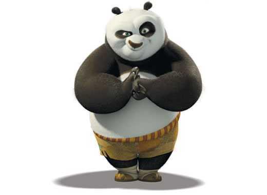 kung fu panda saluto
