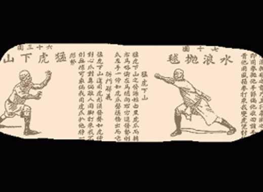 forme kung fu pergamena