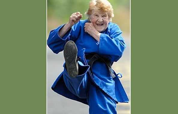 karate nonna