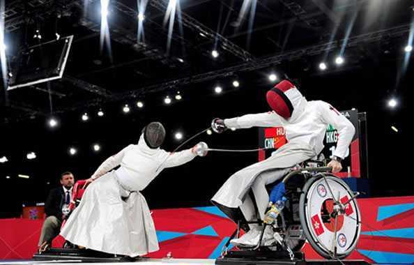 paraolimpiadi scherma