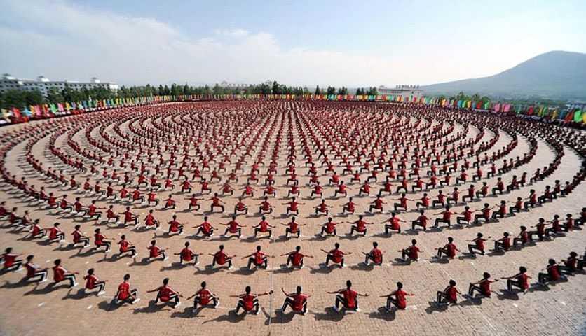 studenti di kung fu