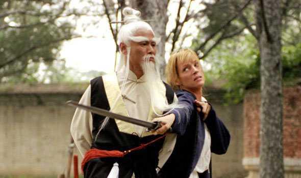 Uma Thurman e Pai Mei