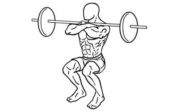 Kung Fu Life - squat
