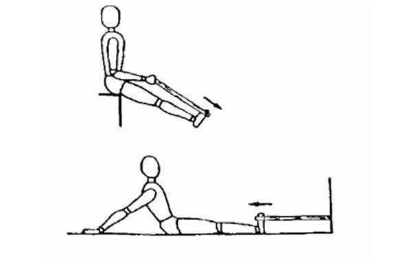 tibiale anteriore esercizio
