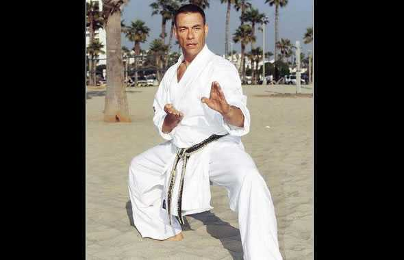 van damme karate