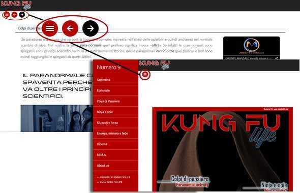 kung fu life numero 9 pulsanti