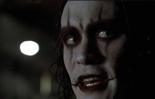 brandon lee il corvo