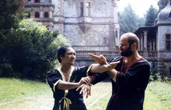 Wing Tsun: i maestri Leung Ting e Kernspecht della EWTO.