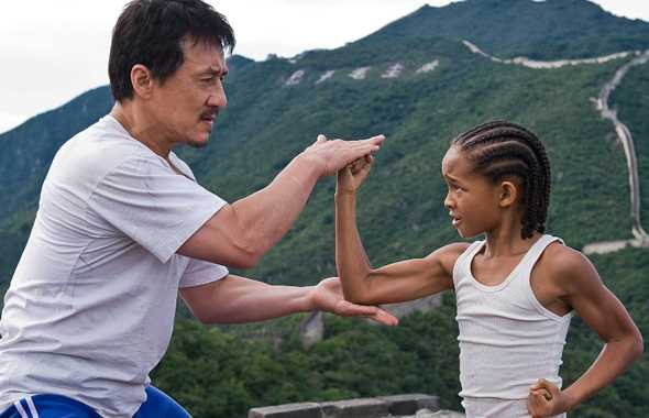 jackie chan karate kid