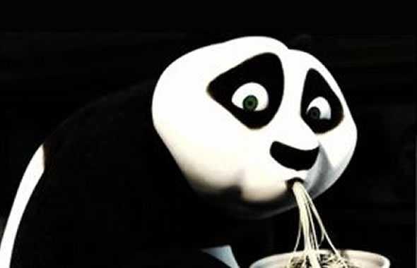 kung fu panda spaghetti