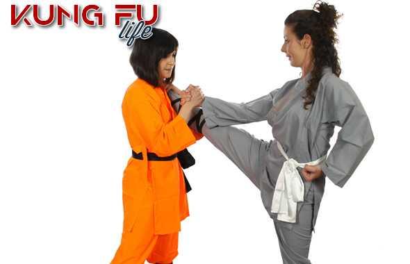 kung fu life allenamento