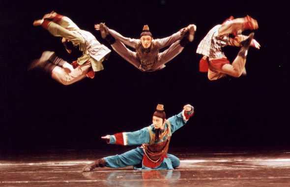 danza kung fu