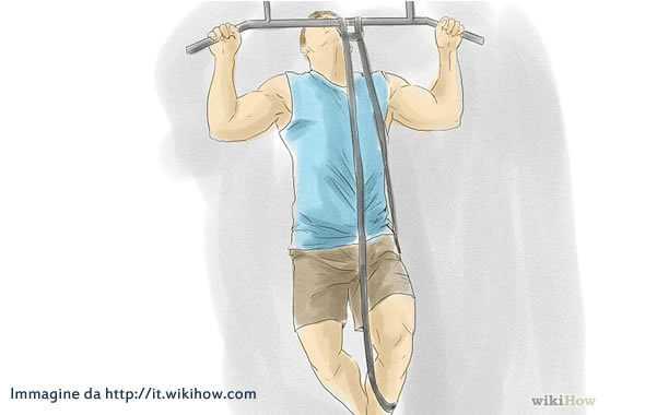 elastici pull up disegno