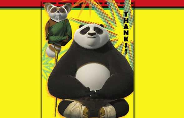 kung fu panda grazie