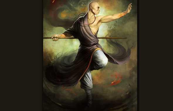 monaco shaolin dipinto