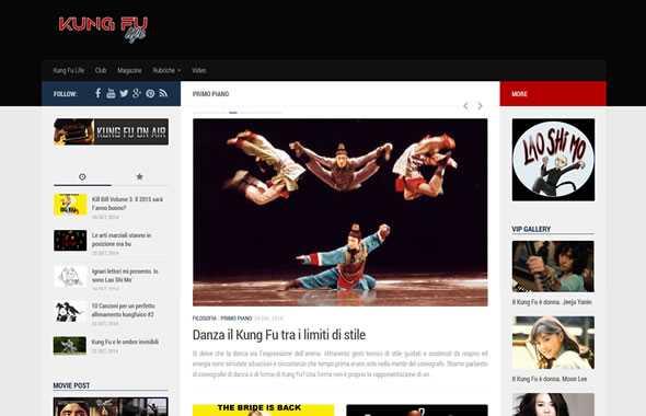 kung fu life nuovo blog