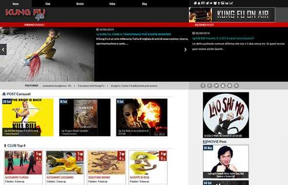 kung fu life nuovo sito