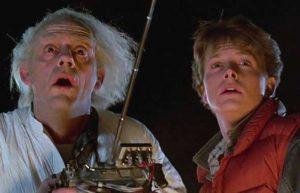 ritorno al futuro Doc e Marty
