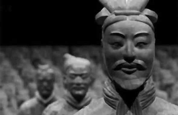 esercito terracotta testa