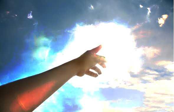 dito al cielo