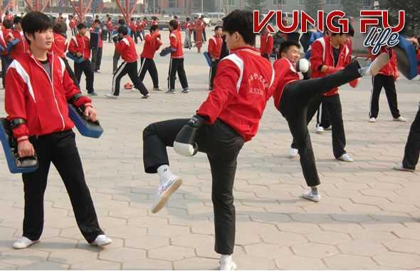corso di Kung Fu allenamento
