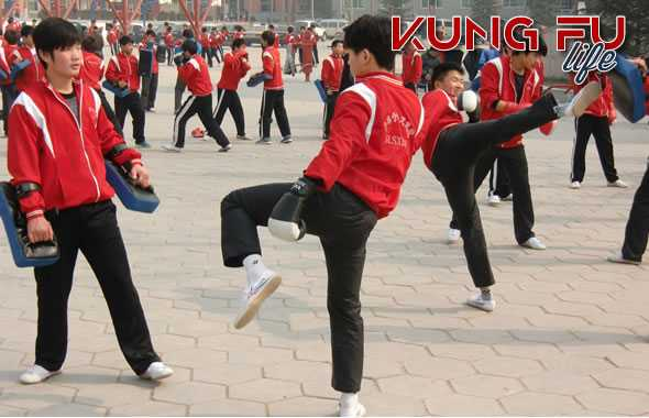 kung fu shaolin allenamento