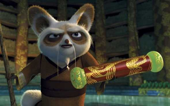 kung fu panda shifu pergamena
