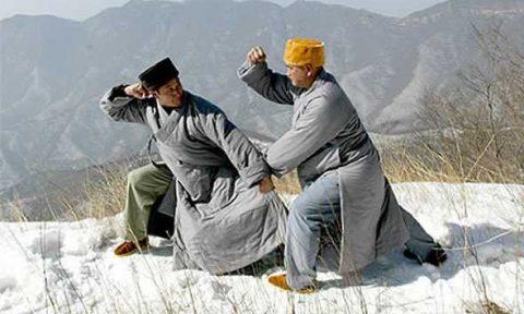 monaci shaolin inverno