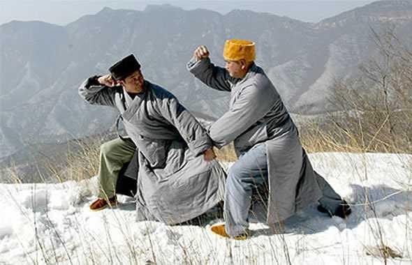 monaci shaolin kung fu