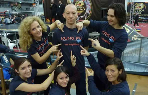 kung fu life team