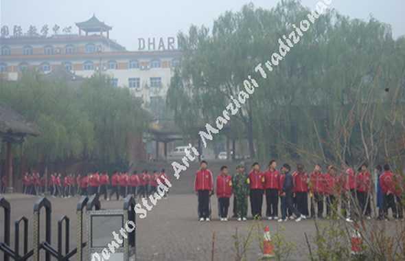 tempio shaolin scuola