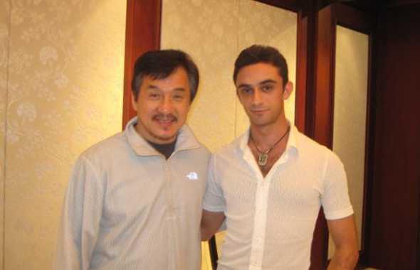 Christian Bachini e Jackie Chan