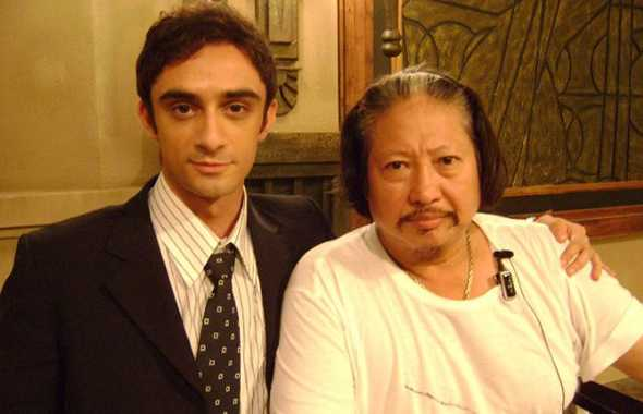 Christian Bachini e Sammo Hung