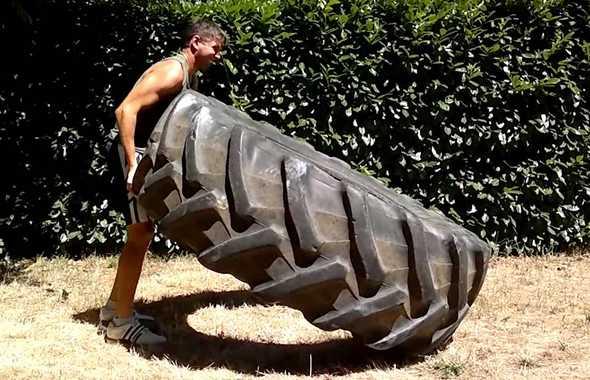 pneumatico esercizio