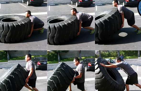 pneumatico esercizio sequenza