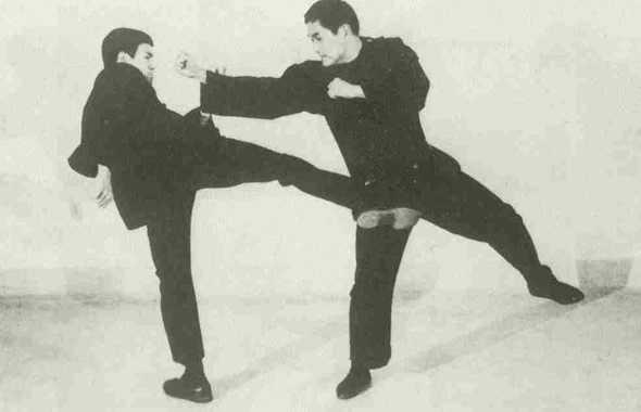 Bruce Lee e Ted Wong
