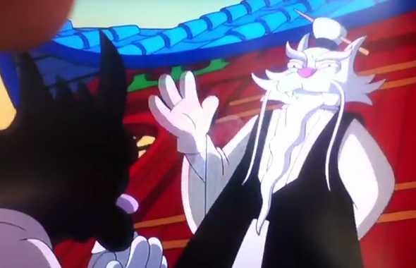 grattachecca e fichetto cartoni animati kung fu