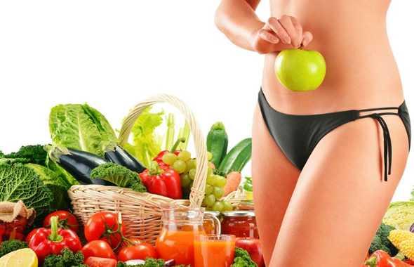 frutta e verdura vegano