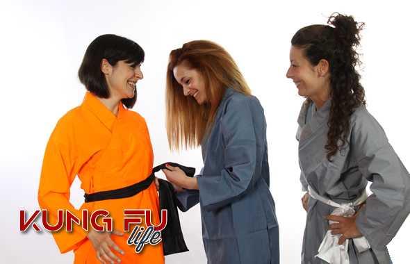 kung fu life kimono