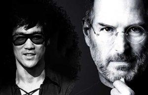 Steve Jobs e Bruce Lee