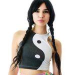 ragazza Tao yin yang